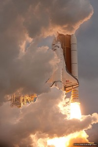 STS-134 final launch of space shuttle Endeavour, Kennedy Space Centre, Florida