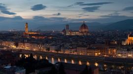 Florence skyline panorama, Florence, Italy
