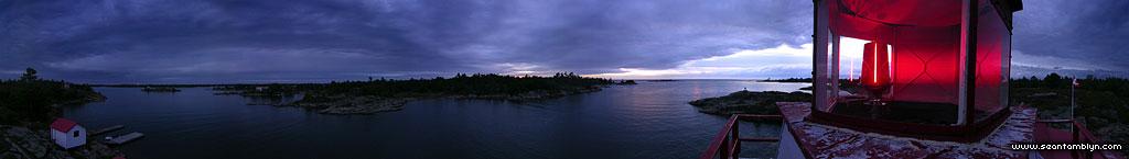 Pointe au Baril lighthouse panorama, Pointe au Baril, Georgian Bay