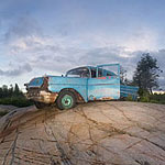 1957 Chevy panorama, Bourchier Islands, Georgian Bay