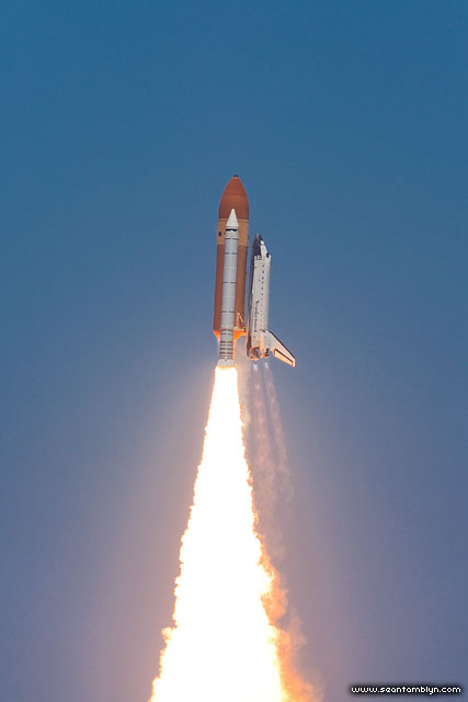 STS-132 launch of space shuttle Atlantis