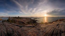 Sunset over One Tree Island, Churchill Islands, Georgian Bay