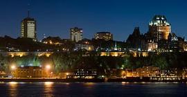 Quebec city skyline high resolution panorama, Quebec City, Quebec