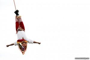 Danza de los Voladores, Monte Alban, Mexico
